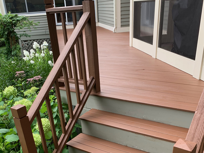 Baird Home Solutions, deck refinish and remodel