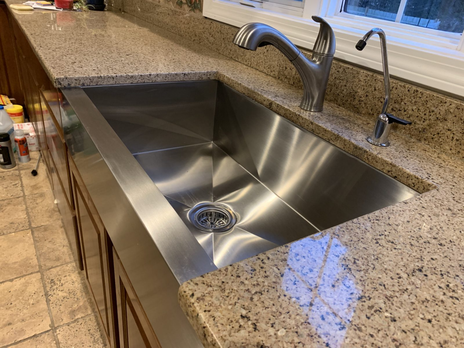 Baird Home Solutions, Farmers Kithen Sink, Kitchen Remodel