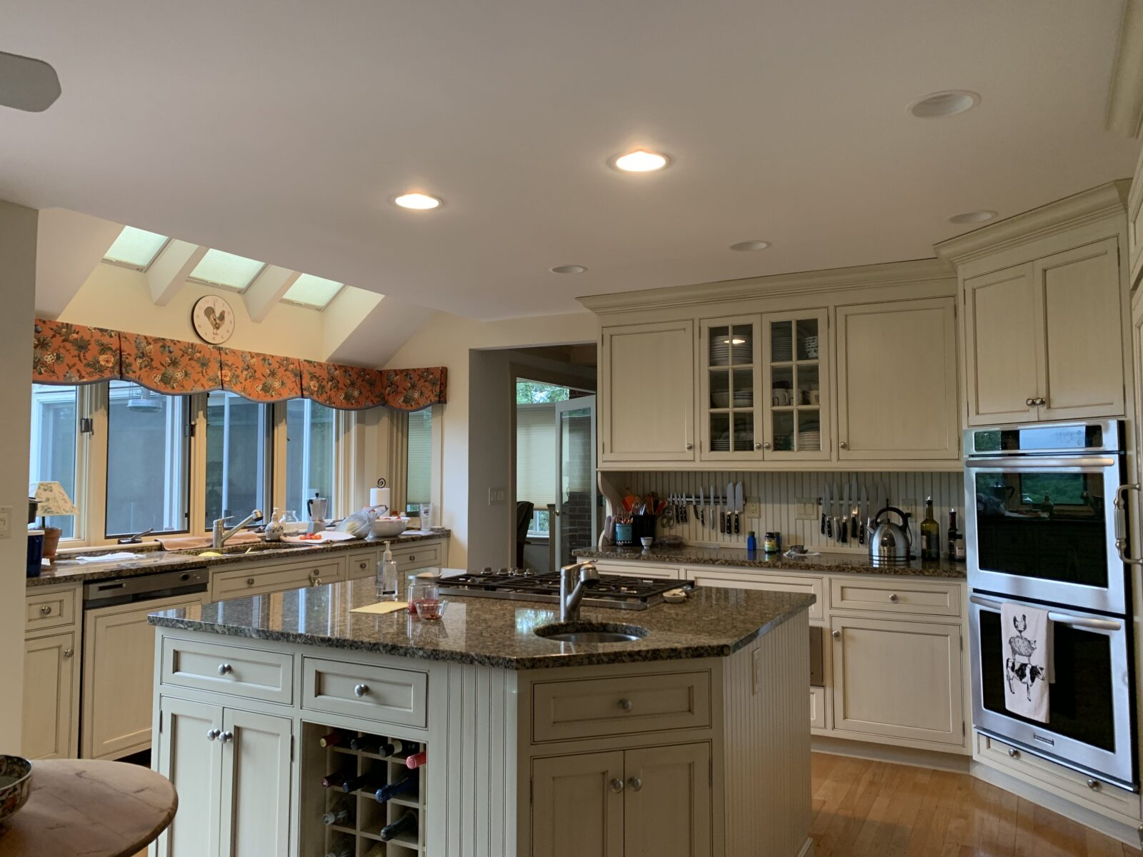 Baird Home Solutions - White painted kitchen cabinets and new countertops