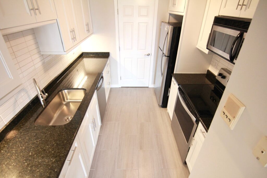 Baird Home Solutions -Galley Kitchen remodel
