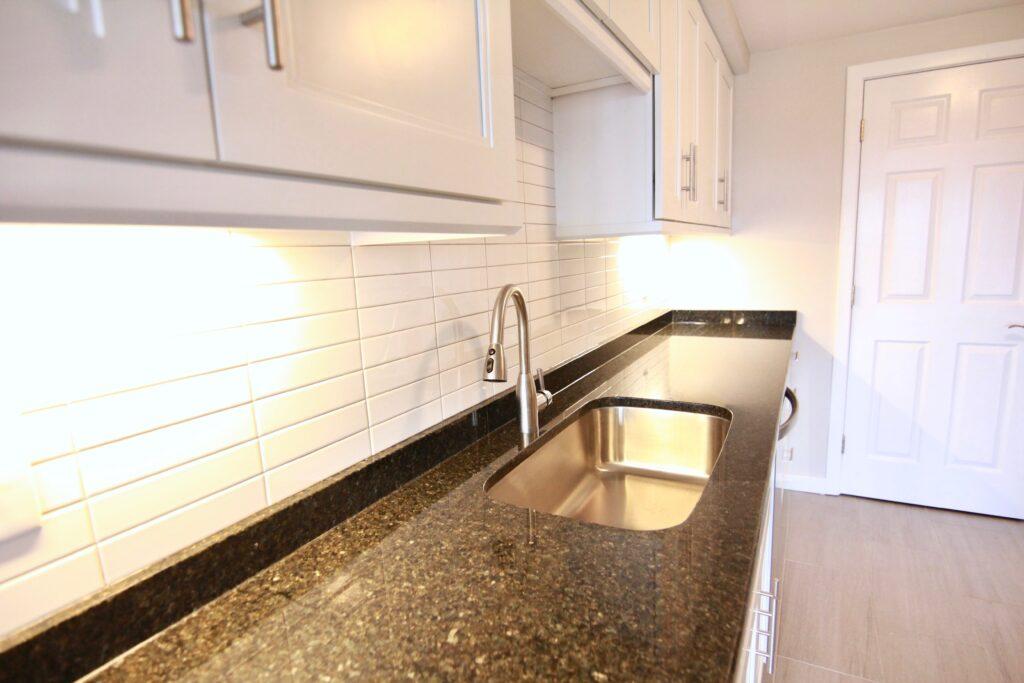 Baird Home Improvement - New kitchen installation - sink
